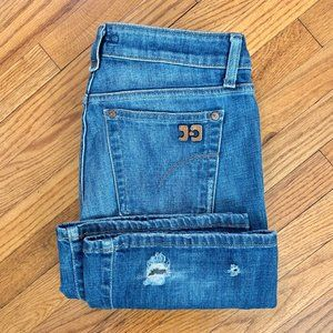 Joe's Jeans Honey Fit Flare Boot Distressed